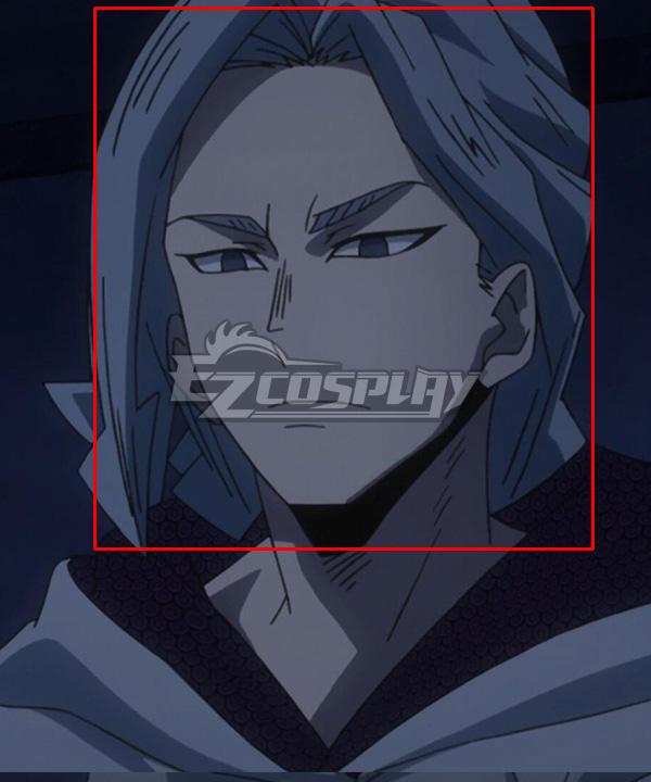My Hero Academia Boku No Hero Academia Hari Kurono Alter Chronostasis Blue Cosplay Wig