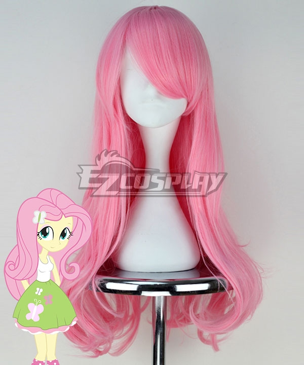 My Little Pony Equestria Girls Fluttershy Pink Cosplay Wig