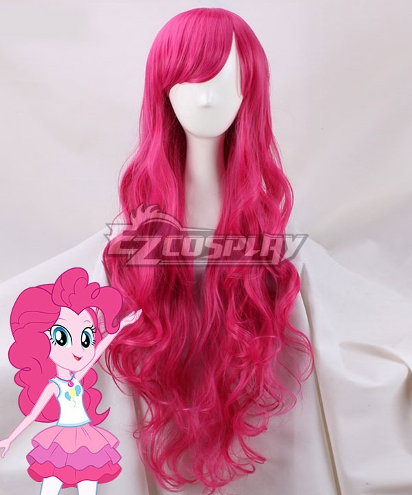My Little Pony Equestria Girls Pinkie Pie Pink Cosplay Wig