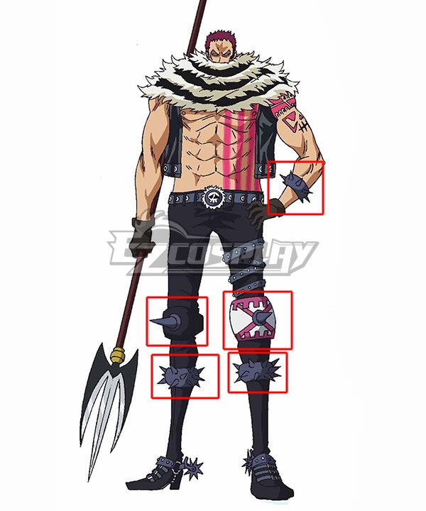 One Piece Charlotte Katakuri Costumes Accessories Cosplay Accessory Prop