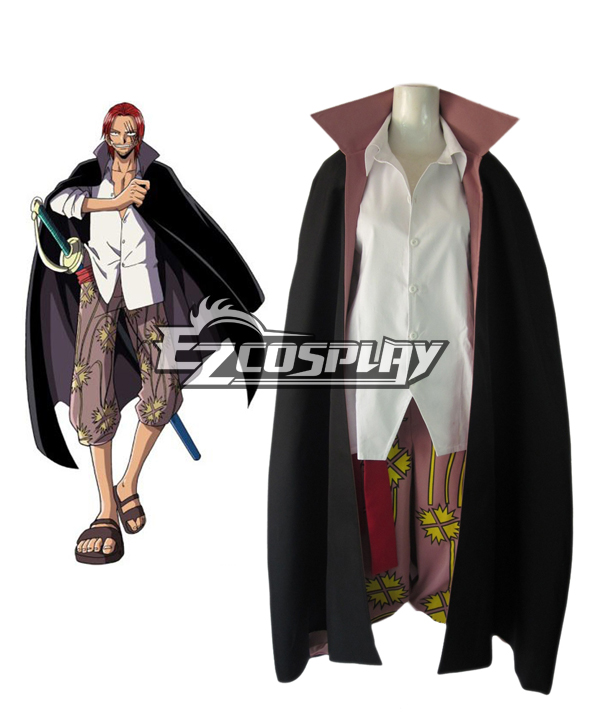"""One Piece """"Red-Haired"""" Shanks Two Years Latter Cosplay Costume"""