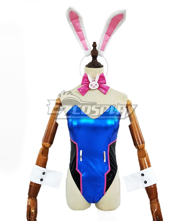 Overwatch OW D.Va DVa Hana Song Bunny Girl Cosplay Costume