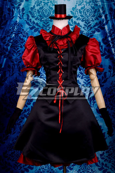 My Little Monster Nacimi Asako Lolita Cosplay Costume Deluxe-P8