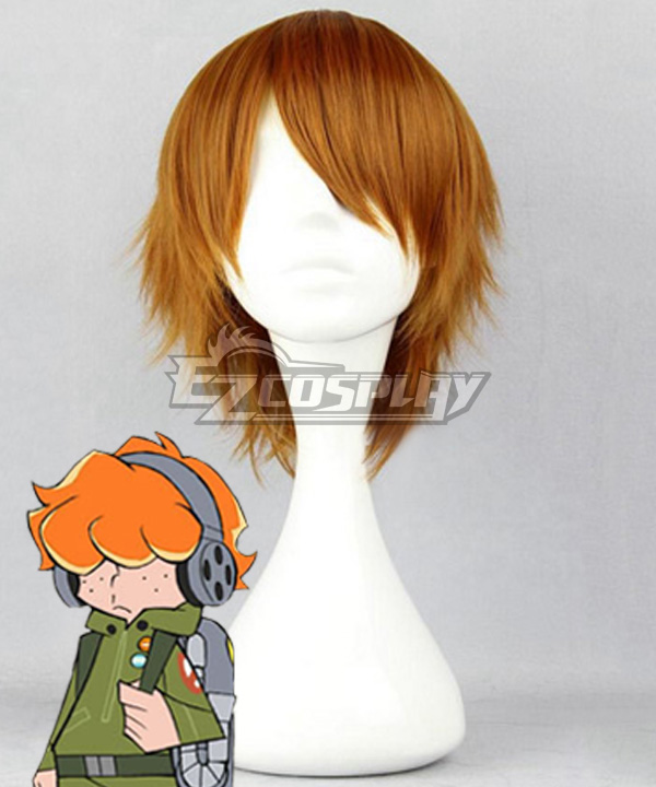 Panty And Stocking with Garterbelt Brief Brown Cosplay Wig