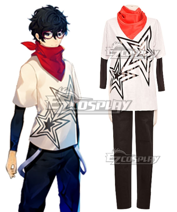 Persona 5 DLC Protagonist Akira Kurusu Ren Amamiya Cosplay Costume