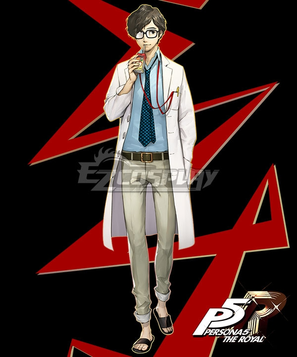 Persona 5 The Royal Takuto Maruki Cosplay Costume