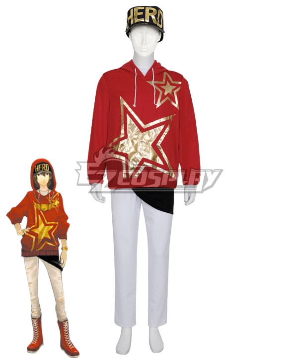 Persona 5:Dancing Star Night Goro Akechi Dancing All Night DLC Cosplay Costume #night