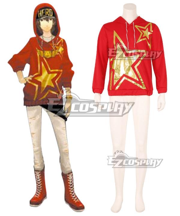 Persona 5:Dancing Star Night Goro Akechi Dancing All Night DLC Hoodie Cosplay Costume - Only Hoodie #night