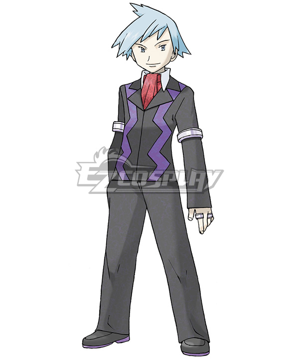 Pokemon Pokã©mon Steven Stone Daigo Tsuwabuki Additional Version Cosplay Costume