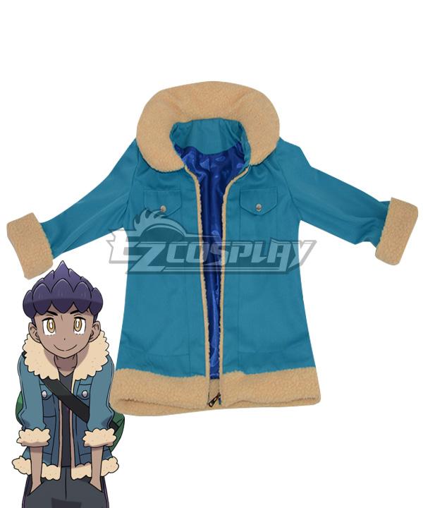 Pokemon Pokã©mon Sword And Shield Rival Hop Coat Cosplay Costume