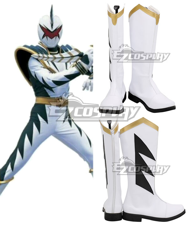 Thunder   Ranger   Range   Power   White   Shoe   Boot