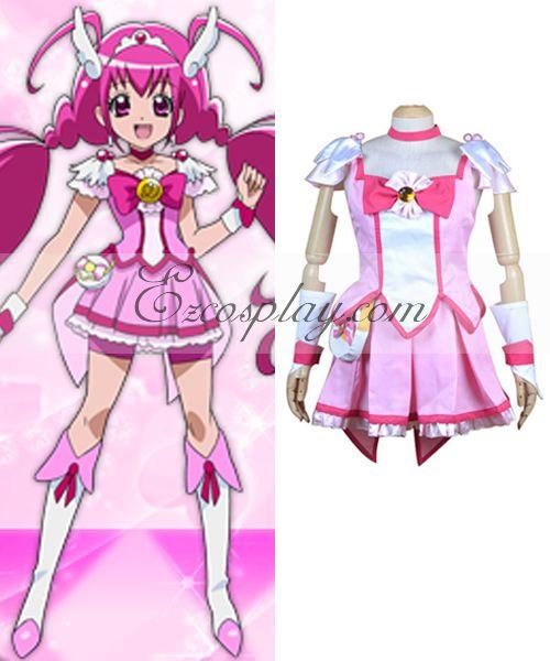 Pretty Cure Smile PreCure Hoshizora Miyuki Cure Sunny Cosplay Costume