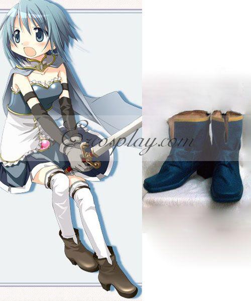 Puella Magi Madoka Magica Miki Sayaka Cosplay Shoes