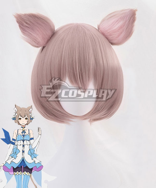 Re: Life In A Different World From Zero Felix Argyle Red Brown Cosplay Wig - Including Wig and Ears