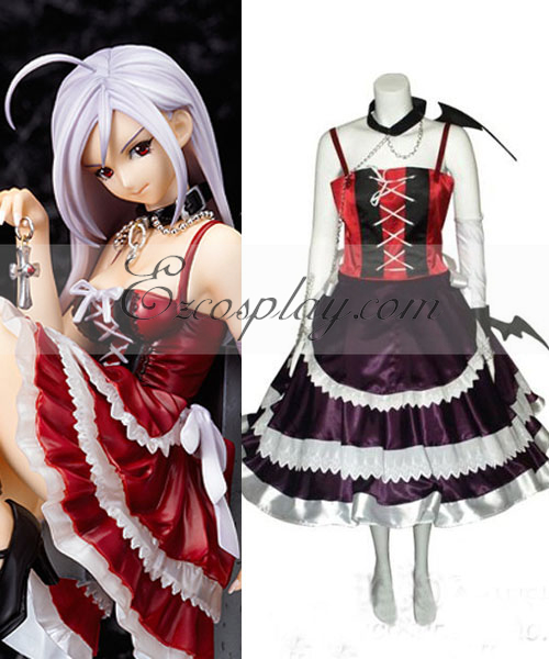 Rosario + Vampire Moka Vampire Dress Cosplay Costume