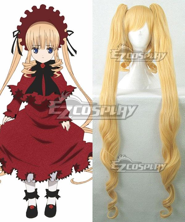 Rozen Maiden Shin Ku Golden Cosplay Wig