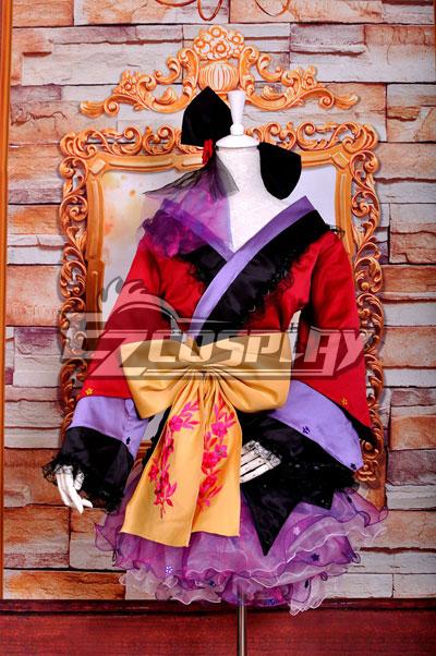 Ruler Vocaloid-ruka PROJECT DIVA2 Courtesan Kimono Lolita Deluxe Version Cosplay Costume