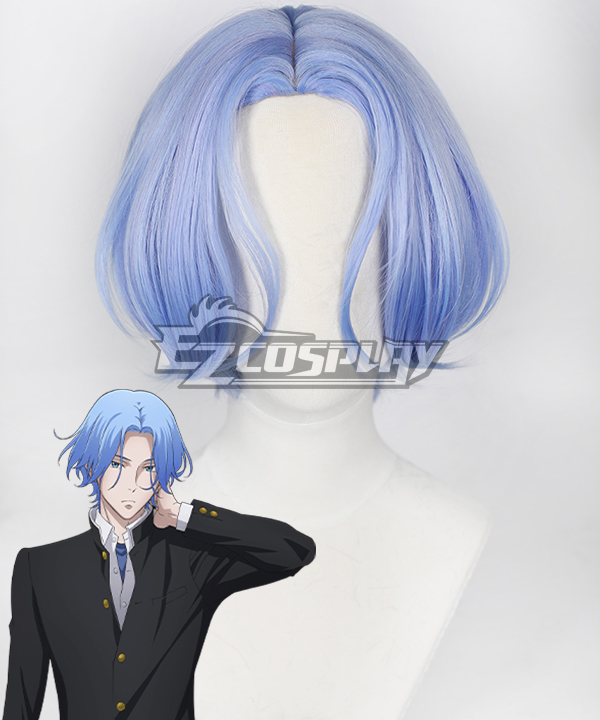 SK8 the Infinity SK�?Langa Blue Cosplay Wig