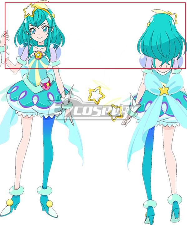 Star Twinkle PreCure Cure Milky Hagoromo Lala Blue Cosplay Wig