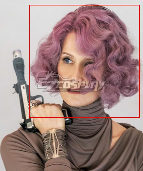 Star Wars Amilyn Holdo Purple Cosplay Wig