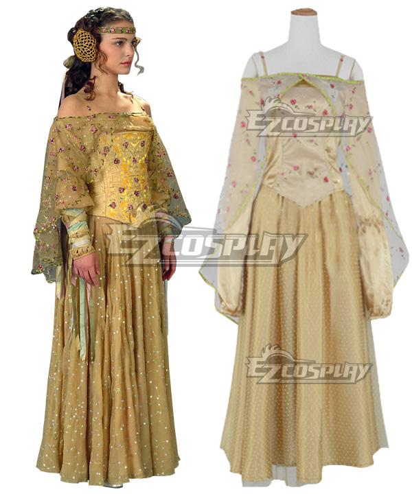 Star Wars Padme Amidala Picnic Dress Cosplay Costume