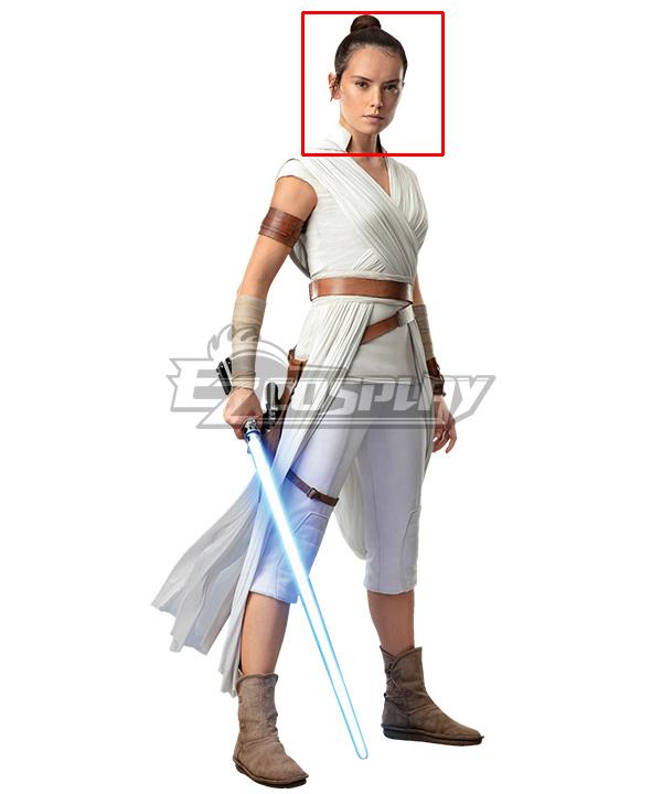 Star Wars The Rise Of Skywalker Rey Brown Cosplay Wig
