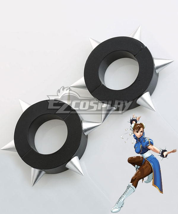 Street Fighter Chun Li Wrist Bands Cosplay Accessory Prop