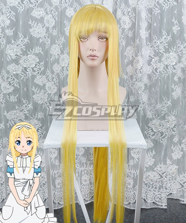 Sword Art Online Alicization Alice Golden Cosplay Wig
