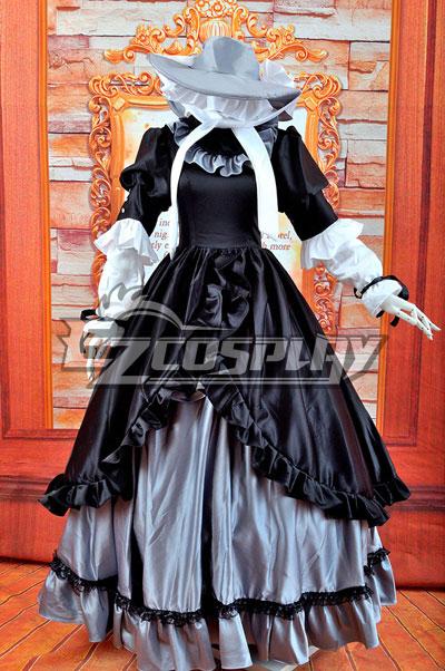 Vintage Style Wedding Dresses, Vintage Inspired Wedding Gowns Gostick-Victorique Longuette Lolita Cosplay Costume $147.99 AT vintagedancer.com