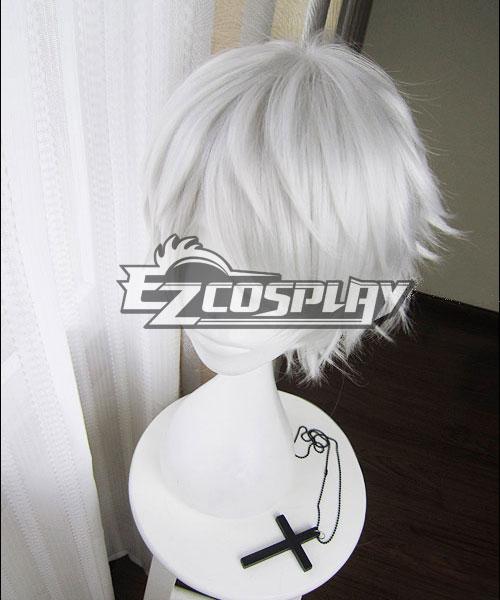 Touken Ranbu Nakigitsune Silver Cosplay Wig