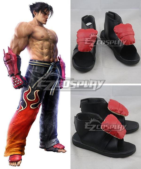 Tekken 6 Jin Kazama Cosplay Shoes
