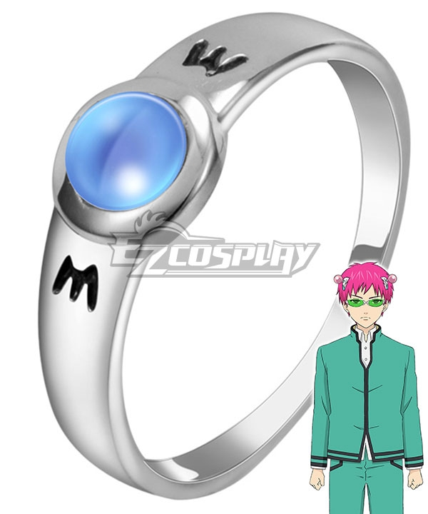 The Disastrous Life of Saiki K Saiki Kusuo no  nan Sainan Kusuo Saiki Ring of Mind Cosplay Accessory Prop