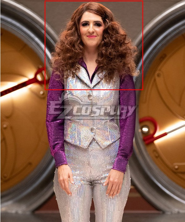 The Good Place Disco Janet Brown Cosplay Wig