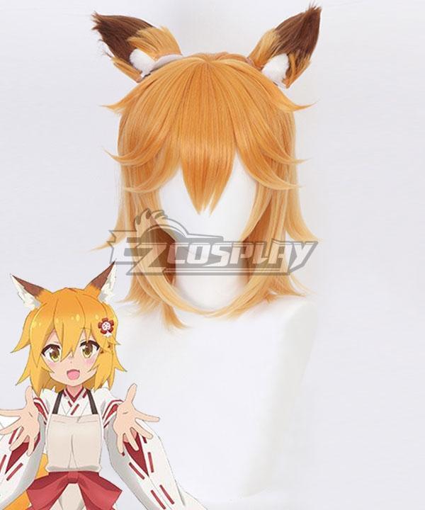The Helpful Fox Senko San Sewayaki Kitsune No Senko San Senko Orange Cosplay Wig