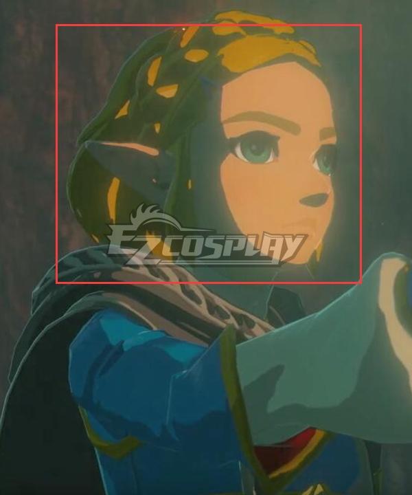 The Legend of Zelda: Breath of the Wild 2 Zelda Short Hair Golden Cosplay Wig