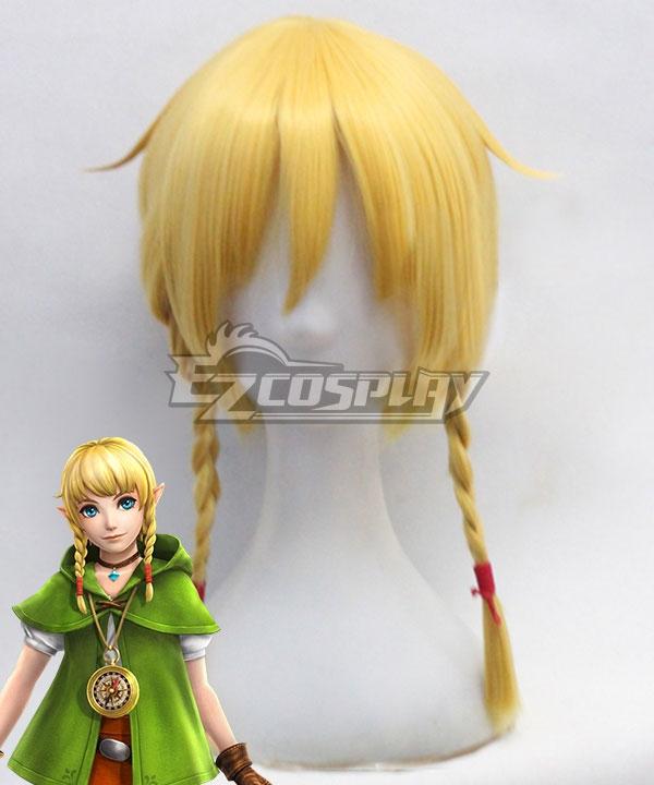 The Legend of Zelda: Breath of the Wild Linkle Yellow Cosplay Wig