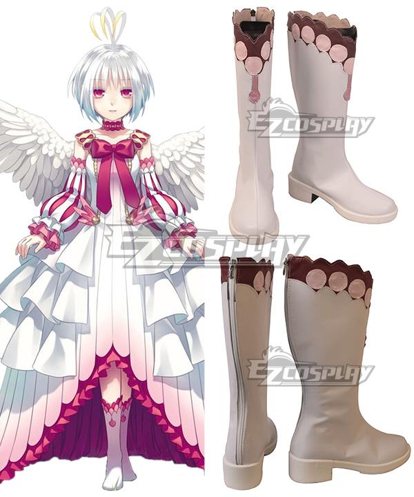 Shield   Queen   White   Hero   Rise   Shoe   Boot   Pink