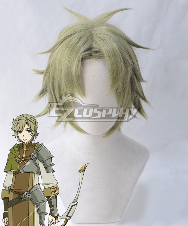 The Rising of the Shield Hero Itsuki Kawasumi Green Cosplay Wig