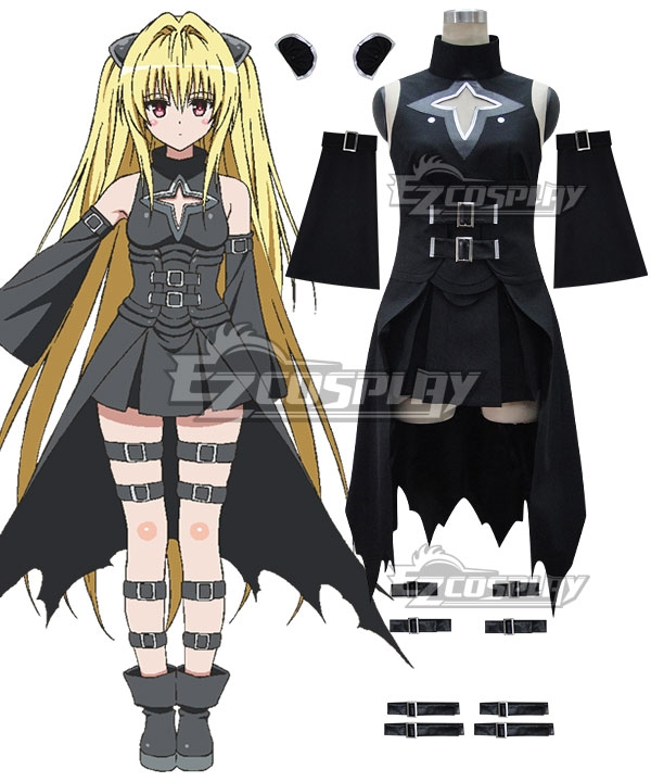 To Love Ru Trouble Darkness 2nd Konjiki no Yami Cosplay Costume
