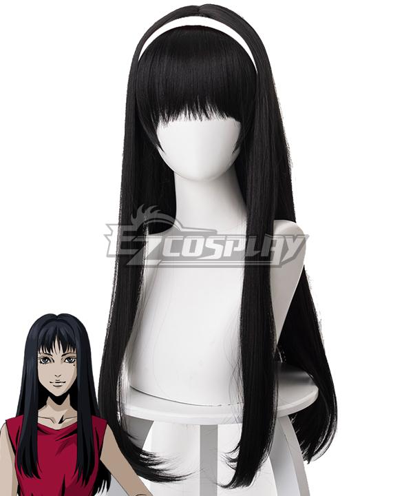 Tomie Kawakami Black Cosplay Wig - 476D