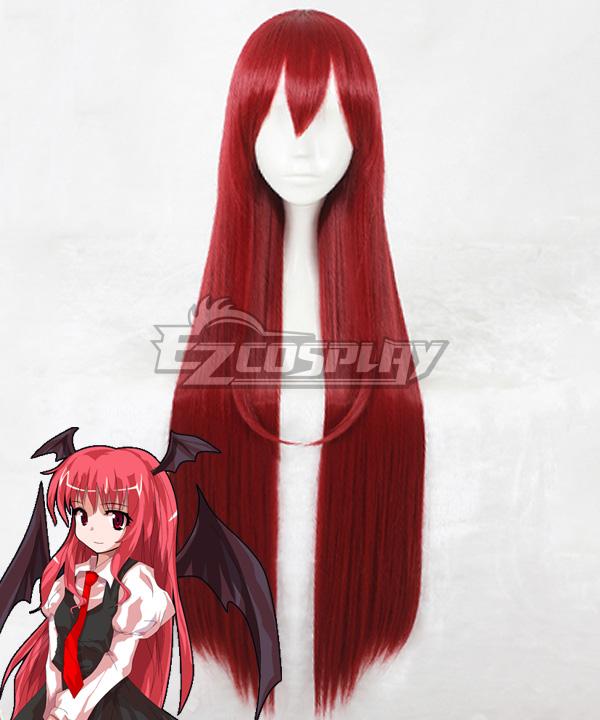 Touhou Project Little Devil Koakuma Red Cosplay Wig