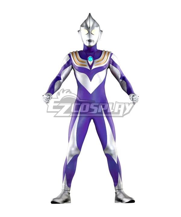 Ultraman Tiga Sky Type Cosplay Costume