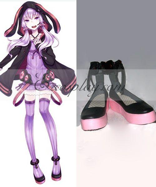 Vocaloid 3 Yuzuki Yukari Cosplay Shoes