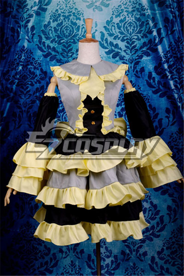 Vocaloid Kagamine Rin Lolita Cosplay Costume