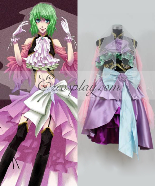 Vocaloid Sandplay Singing of The Dragon Gumi Cosplay Costume
