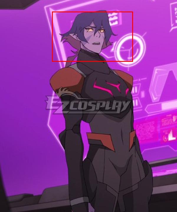 Voltron Legendary Defenders Netflix Krolia Purple Pink Cosplay Wig
