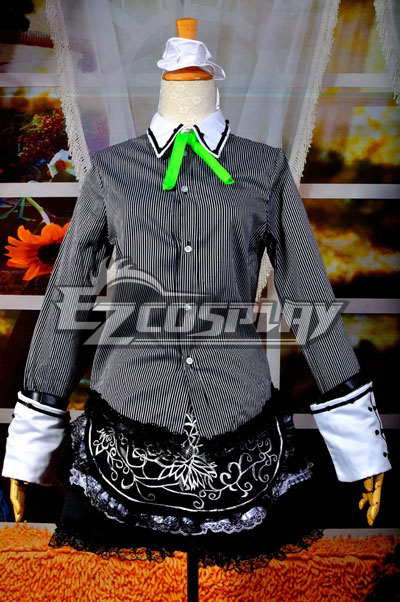 Touhou Project Izayoi Sakuya Maid Cosplay Costume Deluxe Version