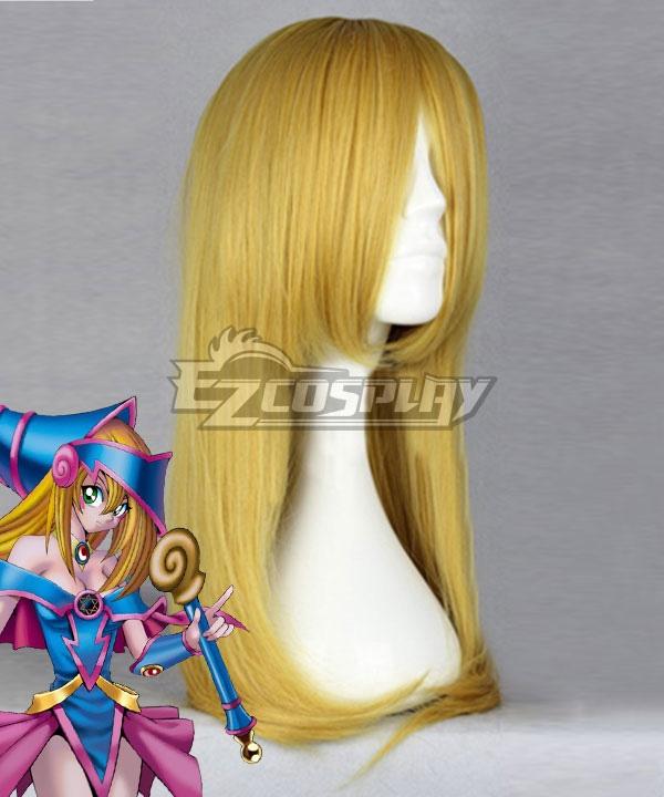 Yu-Gi-Oh! Yugioh Dark Magician Girl Golden Cosplay Wig
