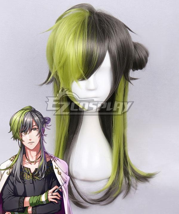 Yume 100 Sleeping Princes & The Kingdom Of Dreams Capita Green Black Cosplay Wig