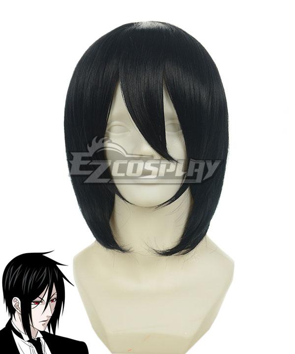 Black Butler Sebastian Michaelis Black Cosplay Wig-015C
